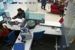 Bursa'daki banka soygun anı kamerada