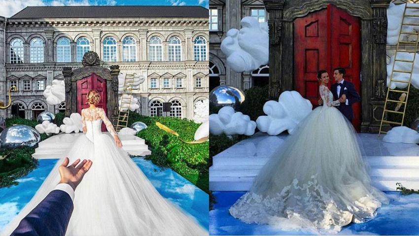Instagram fenomenleri evlendi