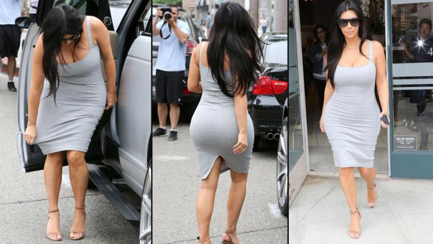 İşte hamile Kim Kardashian