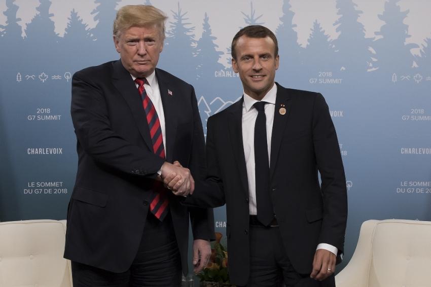 Macron ABD'yi G7'den çıkarmakla tehdit etti