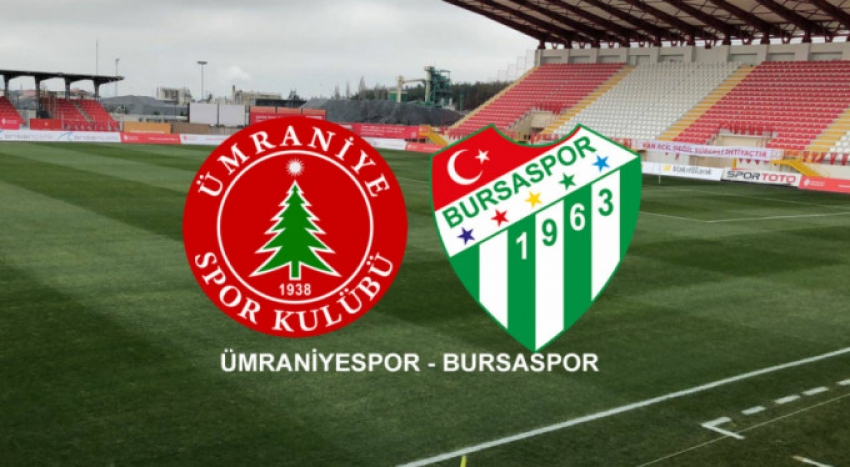 Bursaspor Ümraniye deplasmanında
