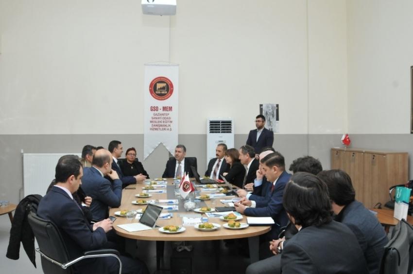 GSO-MEM'de model fabrika değerlendirme toplantısı