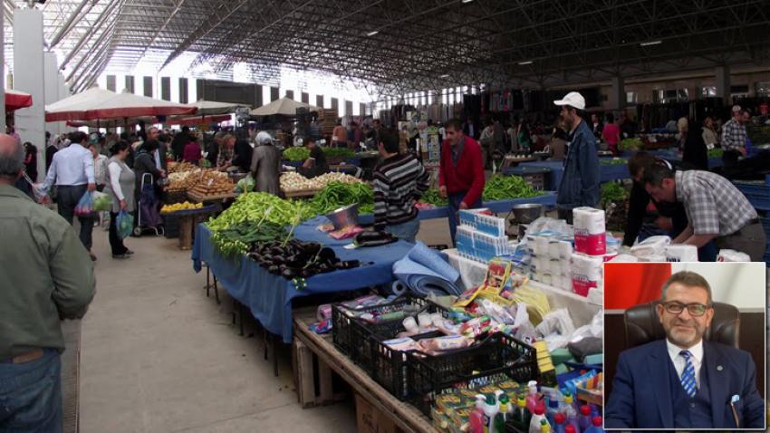 Seyyar satıcılar pazarcıları isyan ettirdi