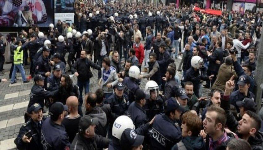 HDP yürüyüşe geçti! Trabzon karıştı