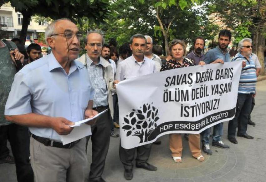 Savaş değil barış, ölüm değil yaşam istiyoruz