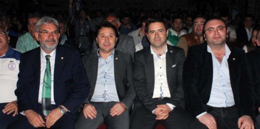 Bursaspor başkan adayları futbol için buluştu