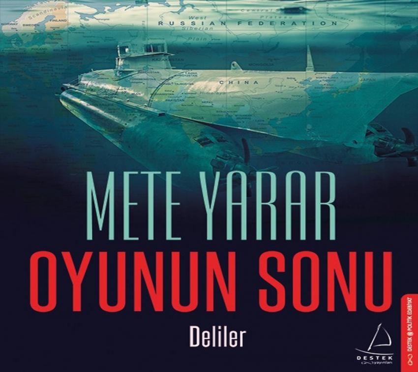 Mete Yarar'dan yeni roman: 'Oyunun Sonu'