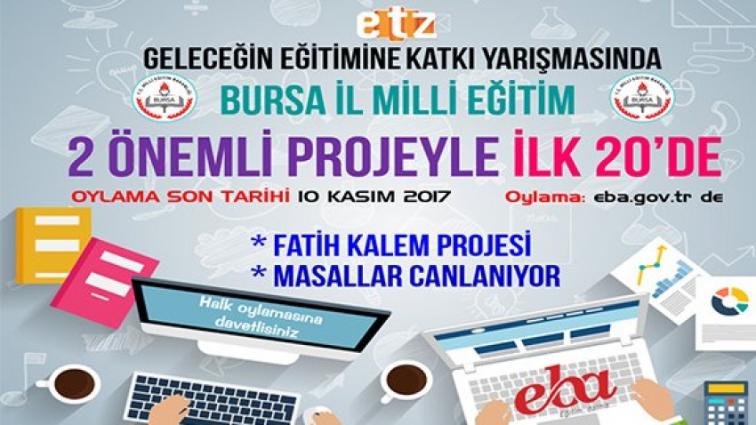 Bursa'dan eğitime katkı