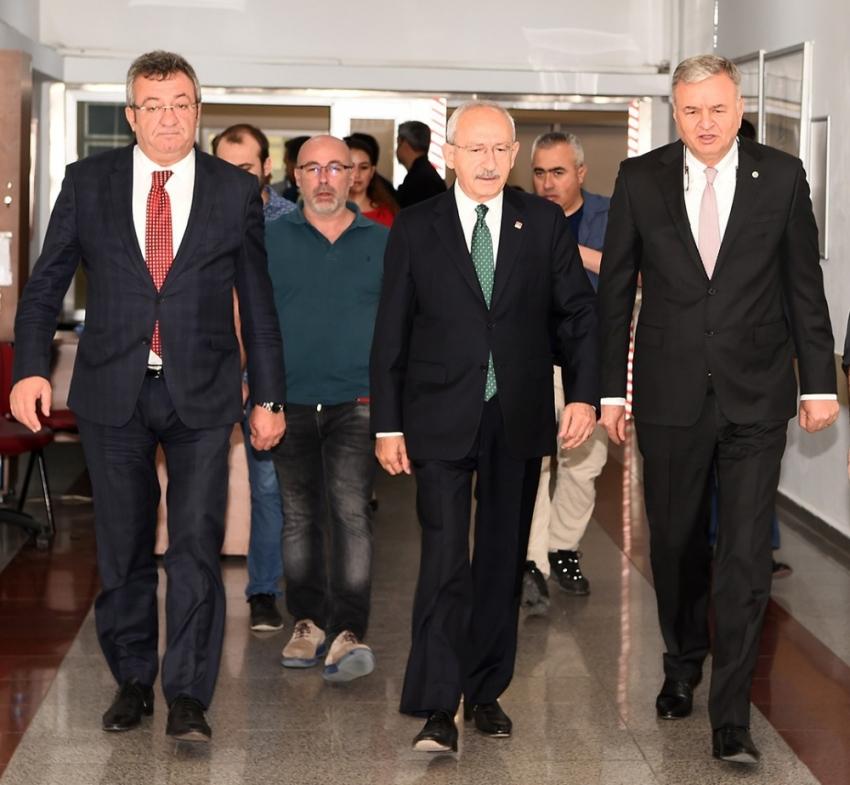 Kılıçdaroğlu Bircan'ı ziyaret etti