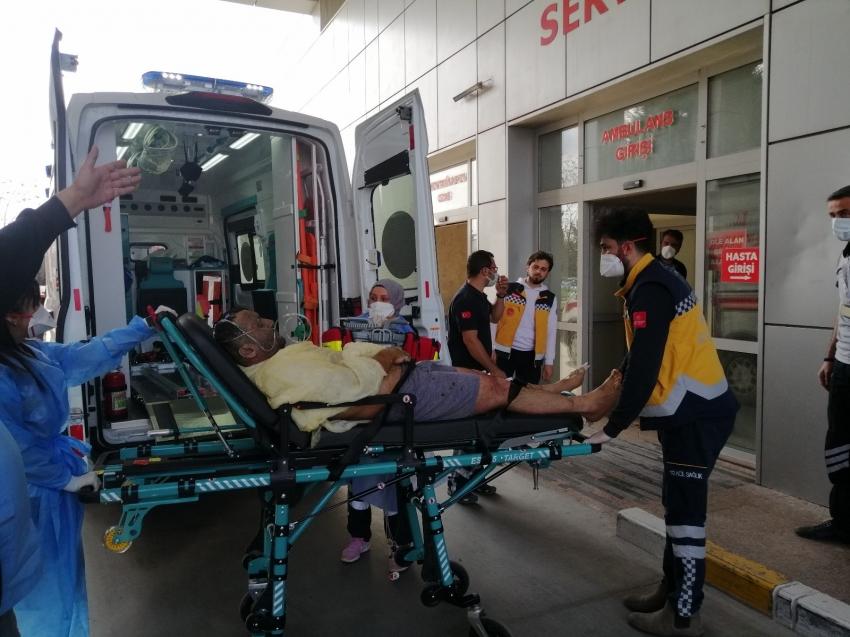 Döküm fabrikasında kazan patladı: 2'si ağır 8 yaralı