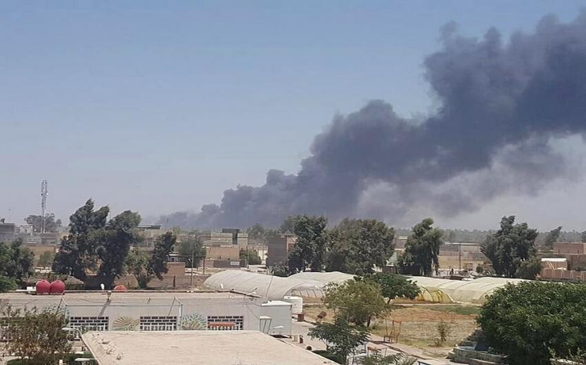 Haşdi Şabi'ye ait mühimmat deposunda patlama