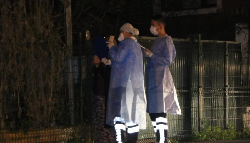 Korona virüs hastasının misafirliğe geldiği ev karantinaya alındı