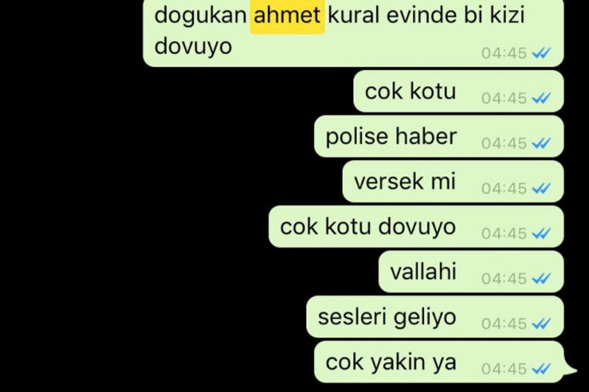 Ahmet Kural'a komşu şoku!