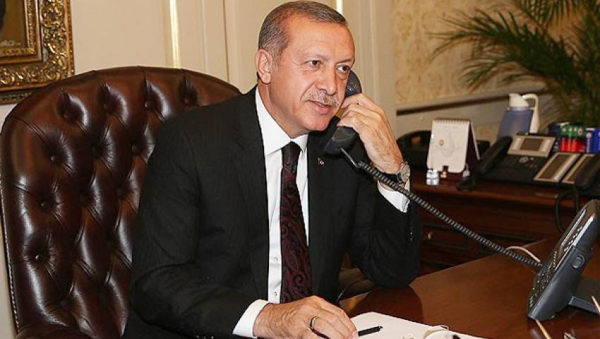 Erdoğan'dan Cameron'a tebrik telefonu