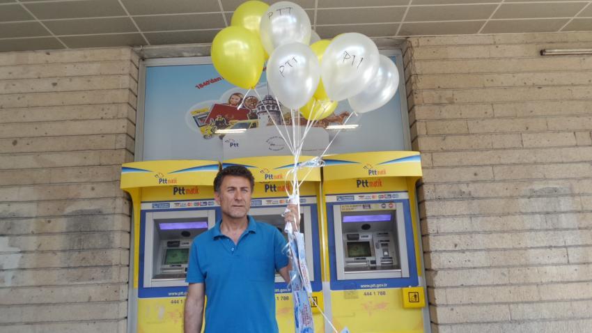 CHP'li vekil paraları balonla uçurdu