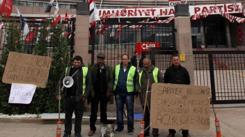 CHP'li iki belediye 75 işçiyi kapı dışarı etti