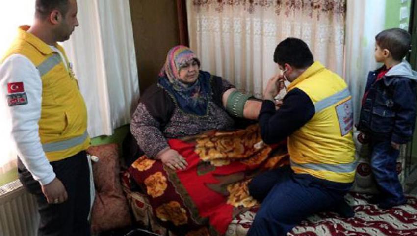 204 kiloluk kadın hayatını kaybetti
