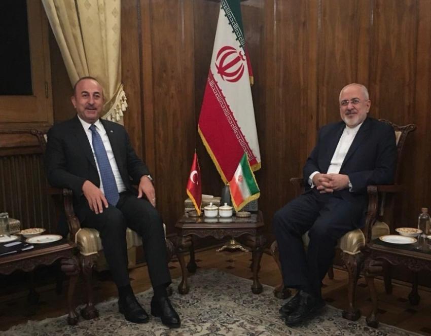 Dışişleri Bakanı Çavuşoğlu Tahran'da