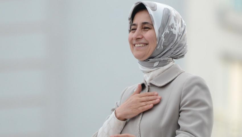 Sare Davutoğlu'nu duygulandıran ziyaret