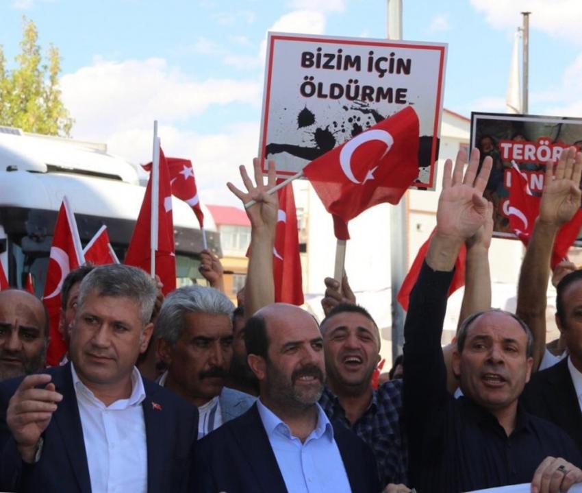 Terör örgütü PKK'ya tepkiler çığ gibi