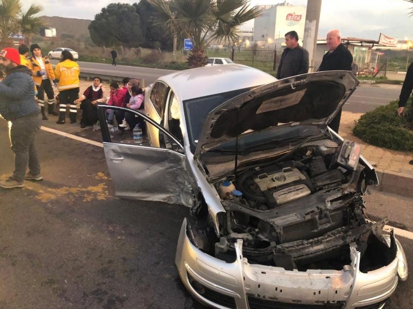 Kazada can pazarı: 4'ü çocuk 9 yaralı