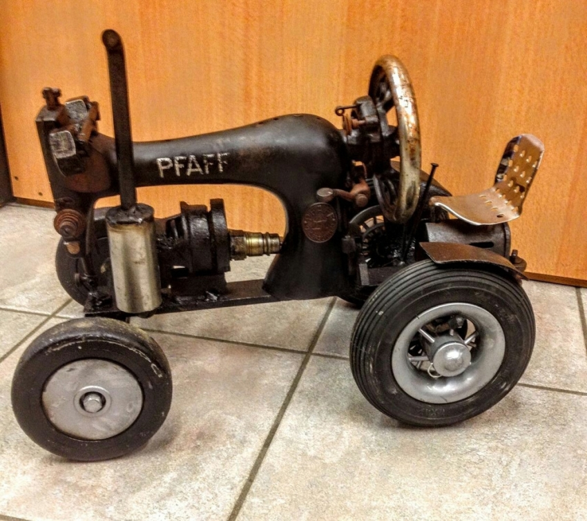 Ütüden otomobil, dikiş makinesinden traktör