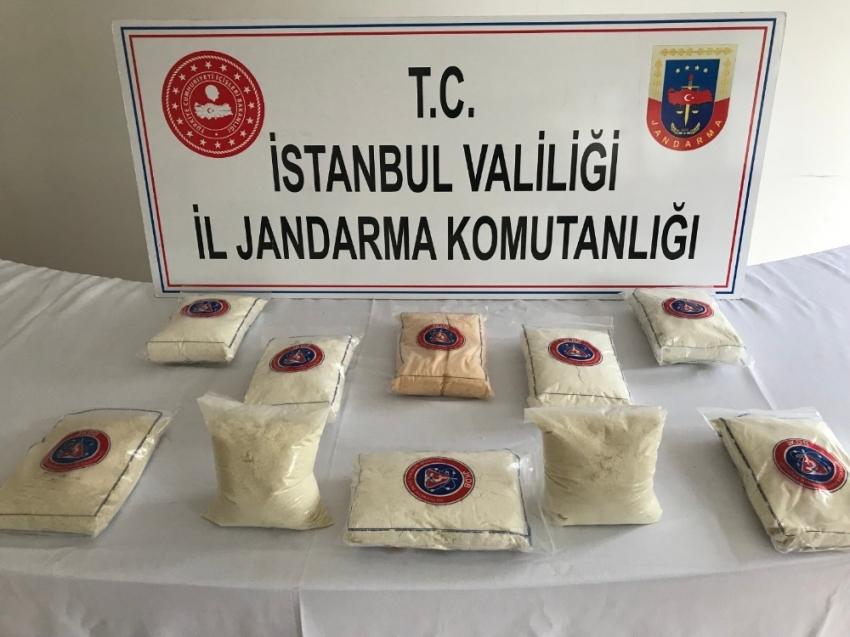 İstanbul'da rezidansa uyuşturucu baskını