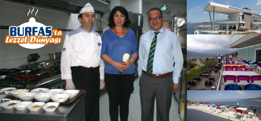 Atatepe'nin lezzet dünyası; balık kokoreç, güveçte dil balığı, deniz mahsulü böreği