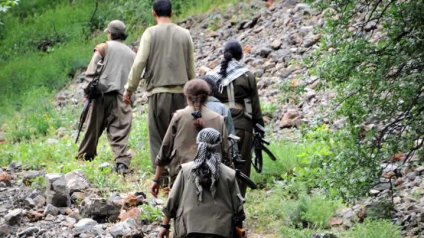 PKK yine o bölgede!