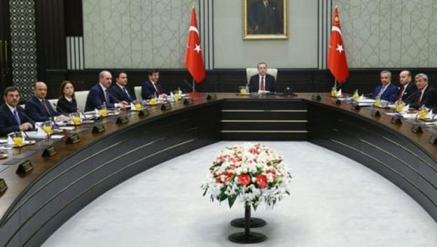 Erdoğan, Bakanlar Kurulu'nu topluyor