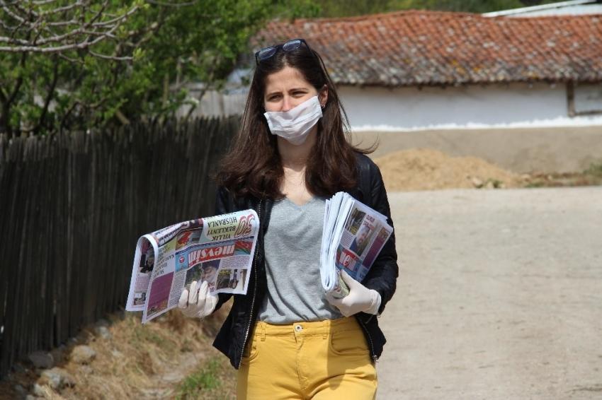 Türkiye'nin tek köy gazetesi 23 yıldır Çanakkale'de çıkmaya devam ediyor