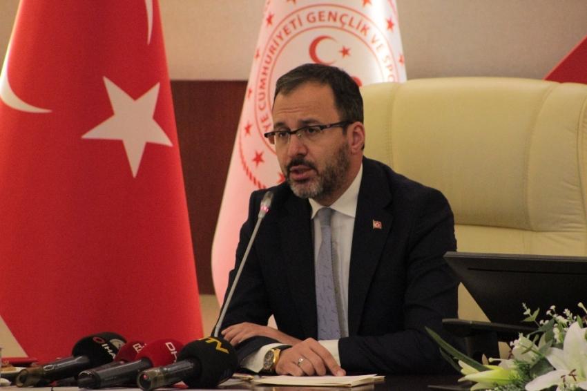 Gençlik ve Spor Bakanı Kasapoğlu'ndan üniversiteli gençlere müjde