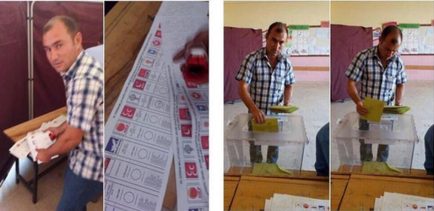 Skandal fotoğraf! Kabine giren HDP'li...