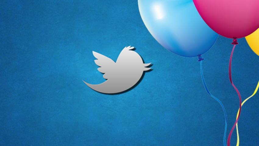 Twitter da doğum günü kutlayacak