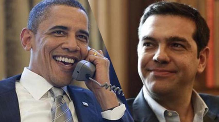 Çipras, Obama ile telefonda görüştü