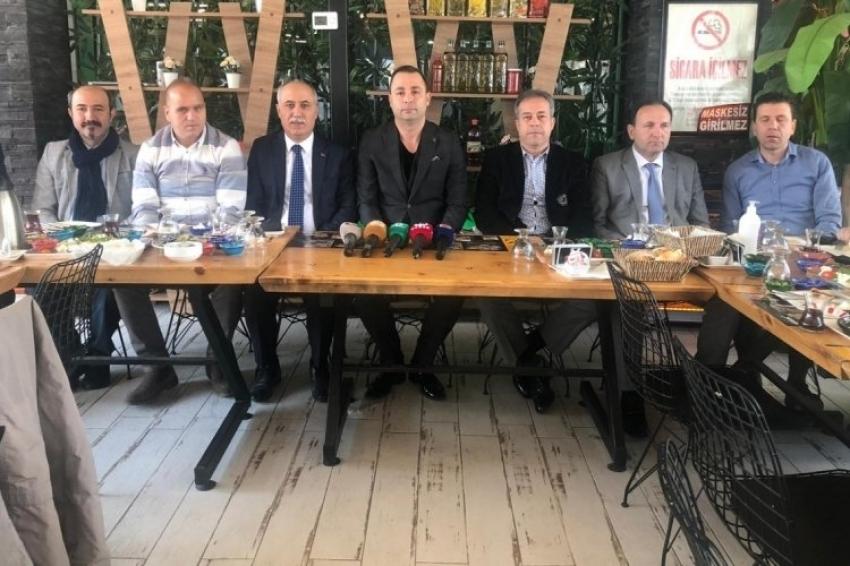 Türkiye Faal Futbol Hakemleri ve Gözlemcileri Derneği Bursa Şubesi medya ile buluştu