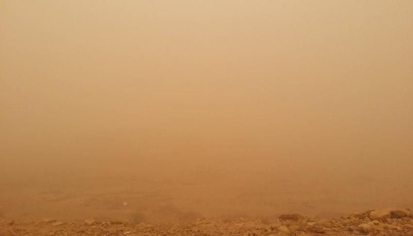Suudi Arabistan'ı toz fırtınası vurdu