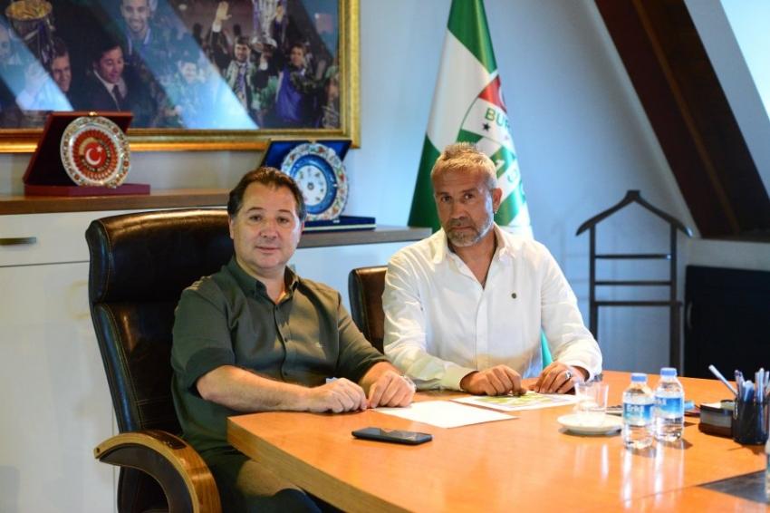 Sportif Direktör Mustafa Gönden oldu
