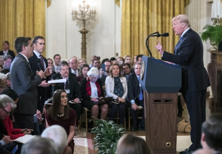 O muhabirin Beyaz Saray'a girişi yasaklandı
