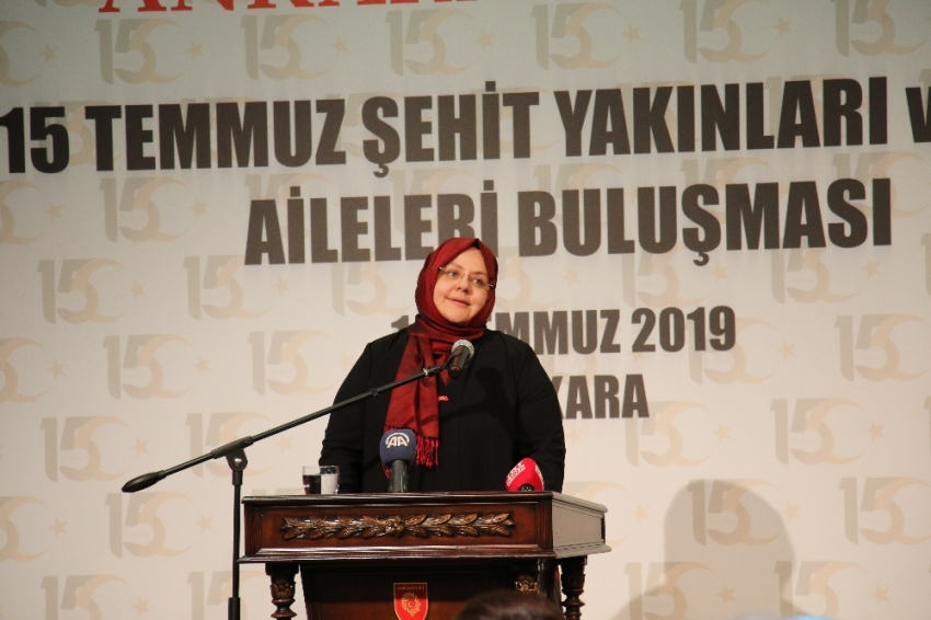 """Aile Bakanı Selçuk: """"Darbe girişimiyle ilgili bugüne kadar açılan 289 davadan 239'u tamamlandı"""""""