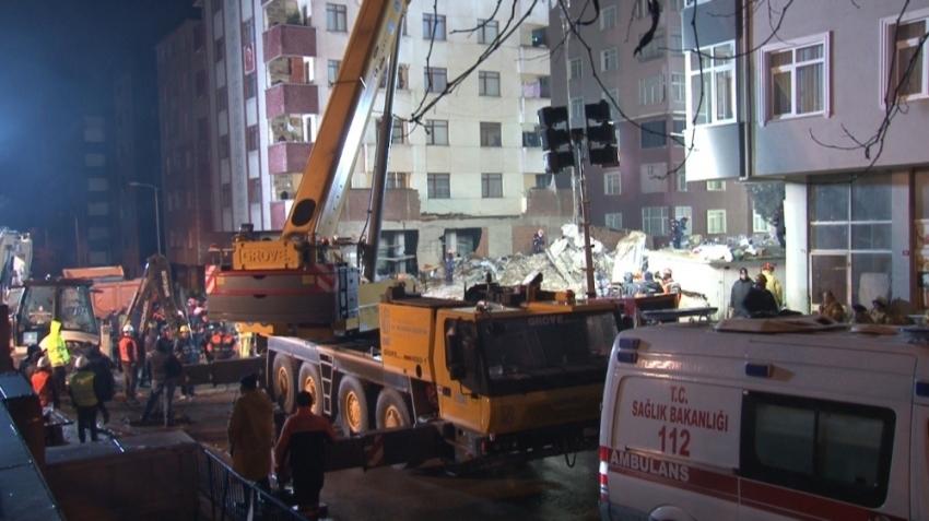 Kartal'da çöken binayla ilgili 3 gözaltı