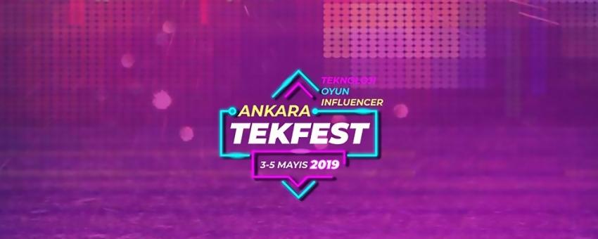 Teknoloji ve oyun tutkunları Tekfest Ankara'da buluşacak
