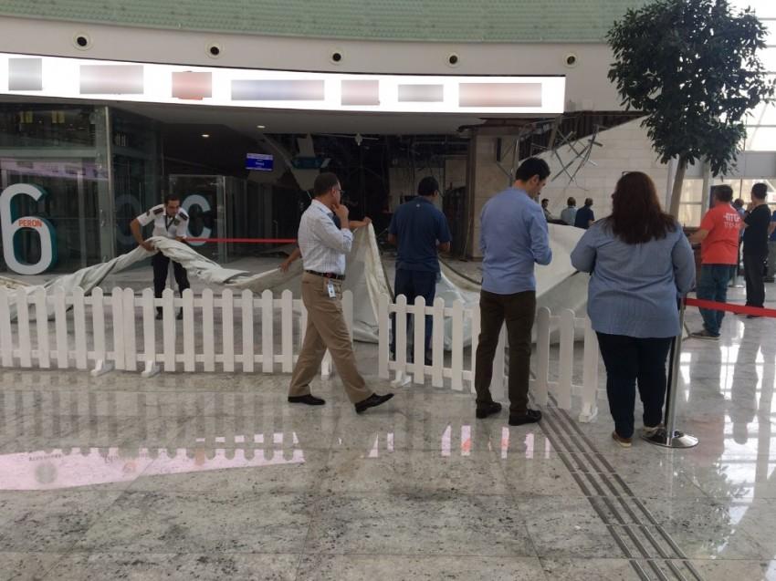 Ankara YHT Garı'nda tavan çöktü