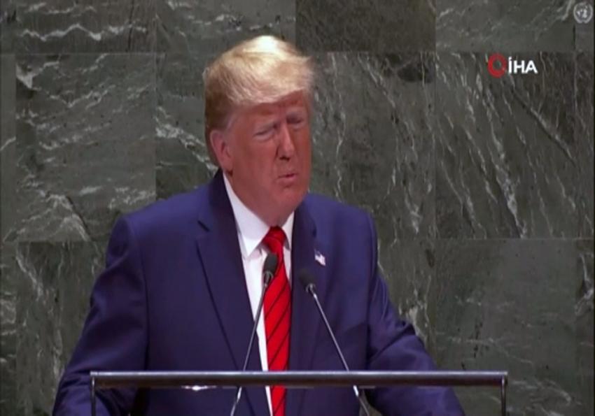 """ABD Başkanı Trump: """"Gelecek küreselcilere değil vatanseverlere ait olacaktır"""""""