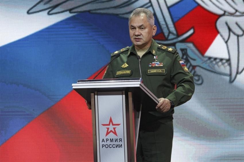 """Rusya Savunma Bakanı Şoygu: """"İletişim ağlarımıza hergün siber saldırılar düzenleniyor"""""""