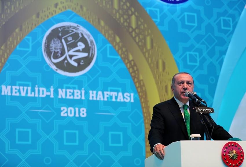 Erdoğan tartışılan ziyareti değerlendirdi