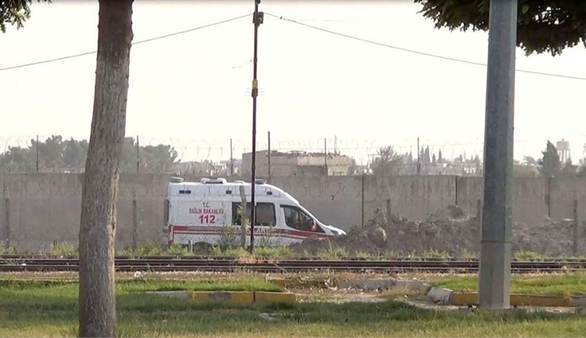 Terör örgütün tuzakladığı patlayıcılarla yaralanan siviller Türkiye'ye getirildi