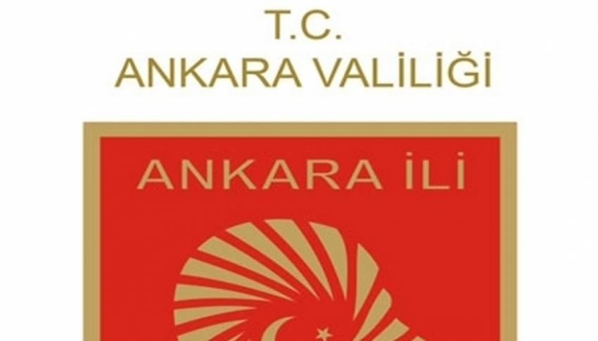 """Ankara Valiliği: """"Patlama sözkonusu değildir"""""""