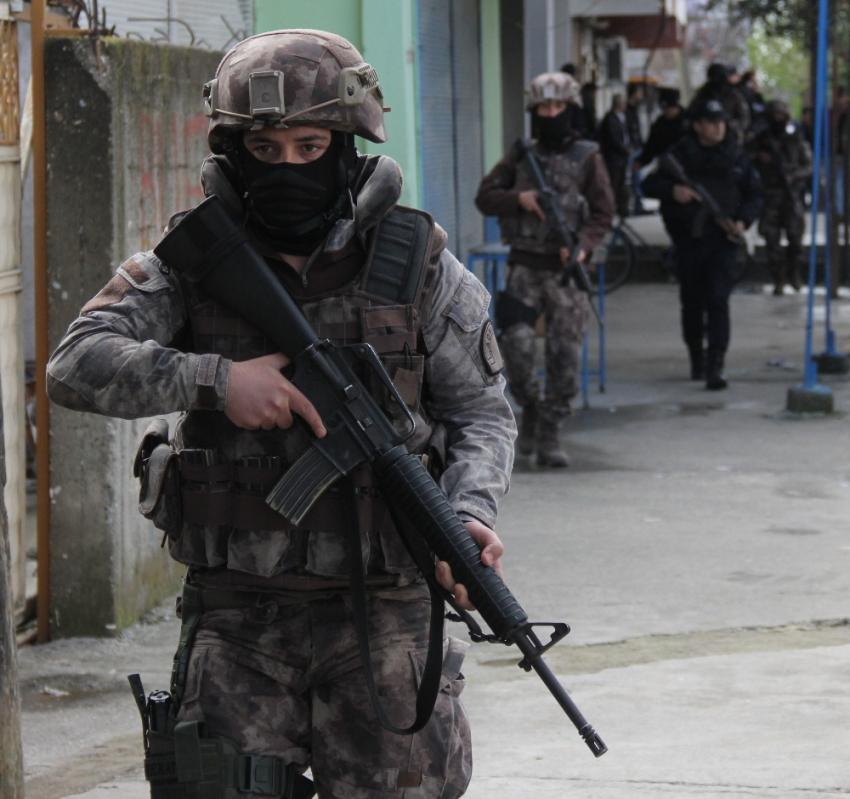O ilde DEAŞ operasyonu: 5 terörist öldürüldü