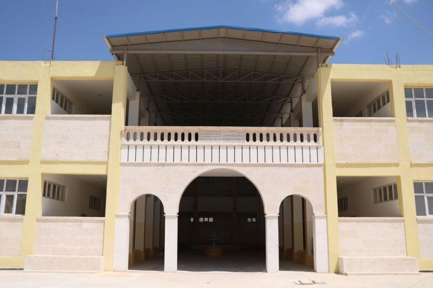 El-Bab'da kurulan Harran Üniversitesi eğitime başlıyor